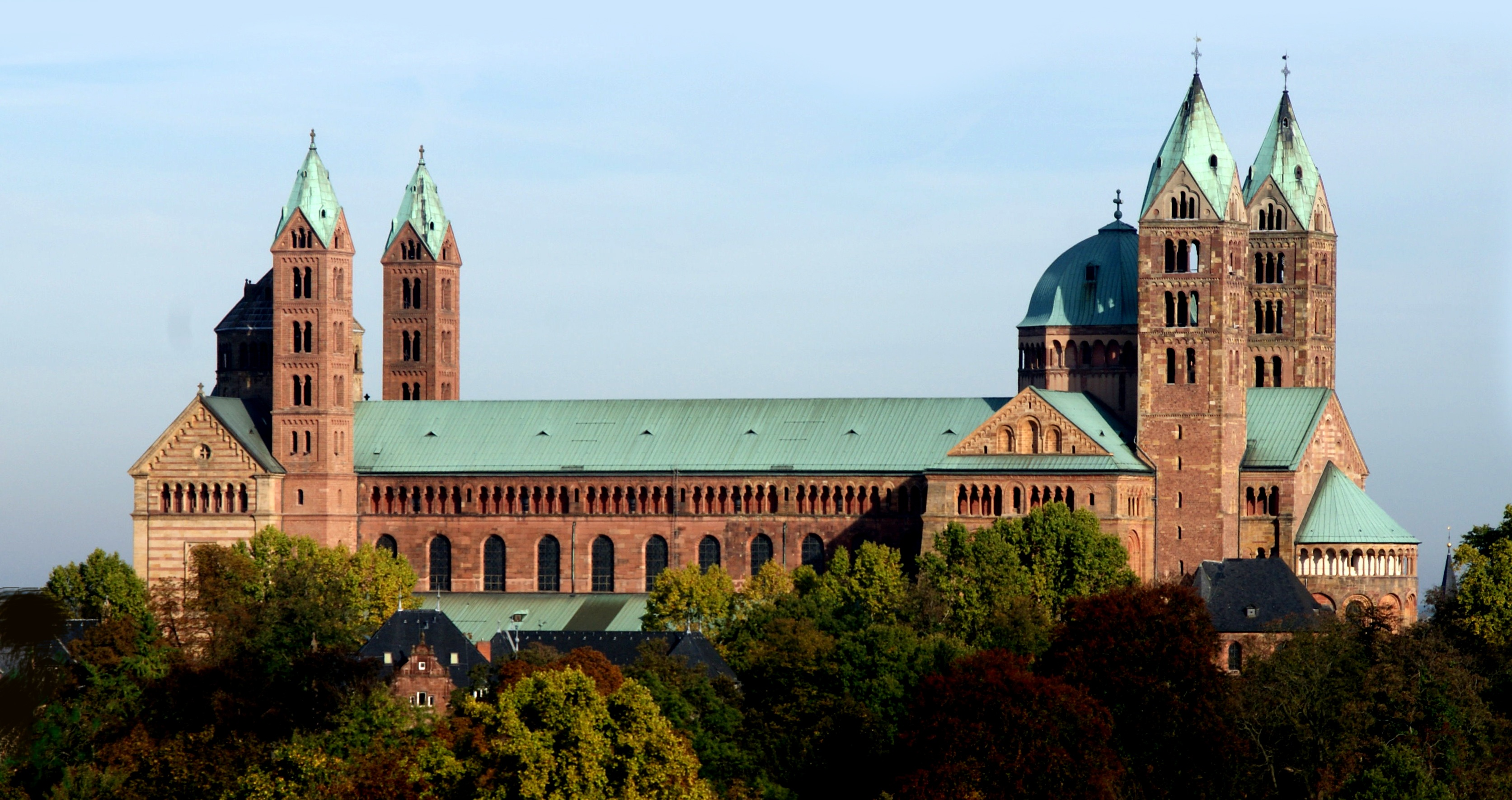 Der Krönungsdom in Speyer